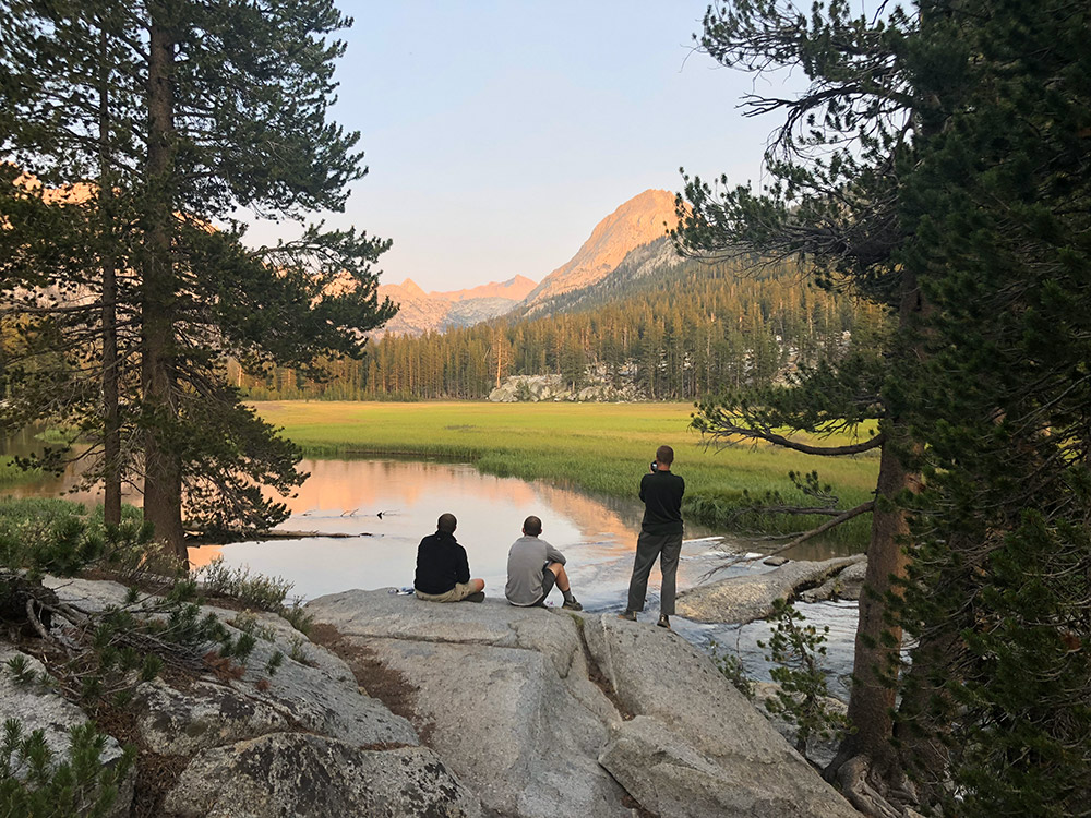 McClure Meadow campsite